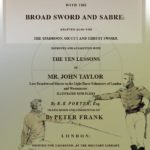 The Art of Defence on Foot with Broad Sword & Sabre-01