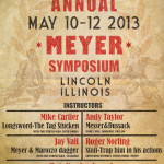 1880 Retro-poster for Annual Meyer Symposium 2013
