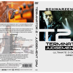 DVD cover for Terminator 2, for Atlantic Film