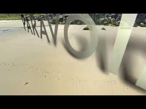 Paravoid 3D Beach Logo